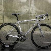 Caletti road bike featuring artwork by Jeremiah Kille. Winner of