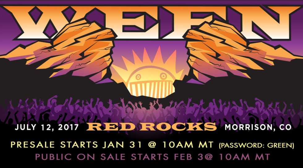 Ween Red Rocks 2017