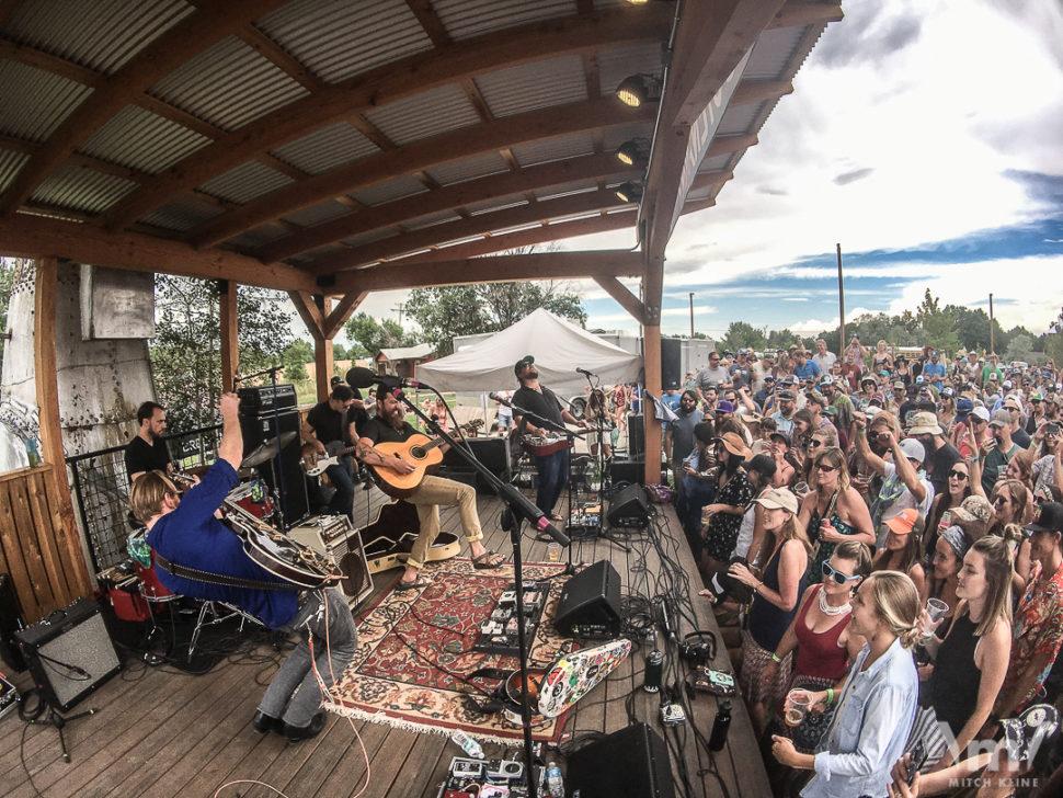 Phoffman/Beck Quintet, Breckenridge Hootenanny, July 08, 2017, Breckenridge Brewery, Li