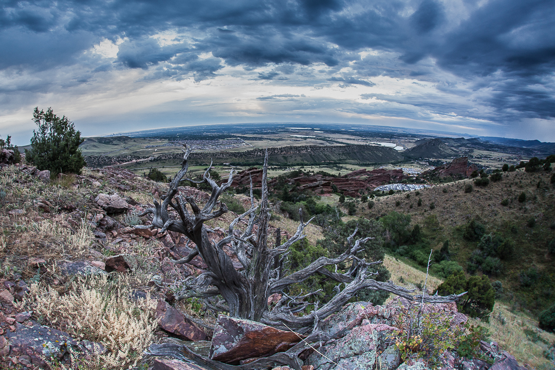 Red Rocks Park & Amphitheatre, Morrison, CO - by Mitch Kline