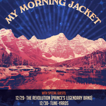 My Morning Jacket Announces New Year's Run at 1stBank Center