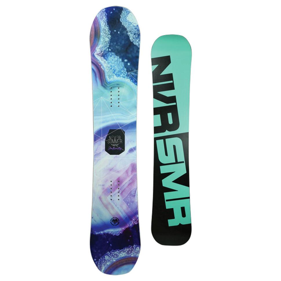 2017-18 Never Summer Infinity Women's All-Mountain Snowboard