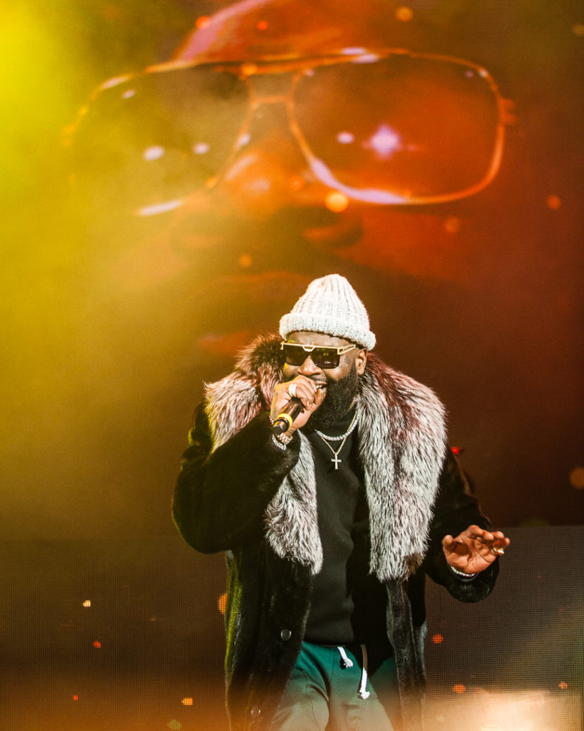 Rick Ross, Jan 26, 2018, Red Rocks Amphitheater, Morrison, CO