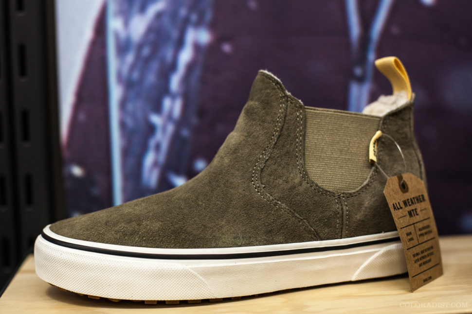Vans Women's Slip-On Mid MTE, SIA/Outdoor Retailer, Jan 25-28, 2018, Denver, CO