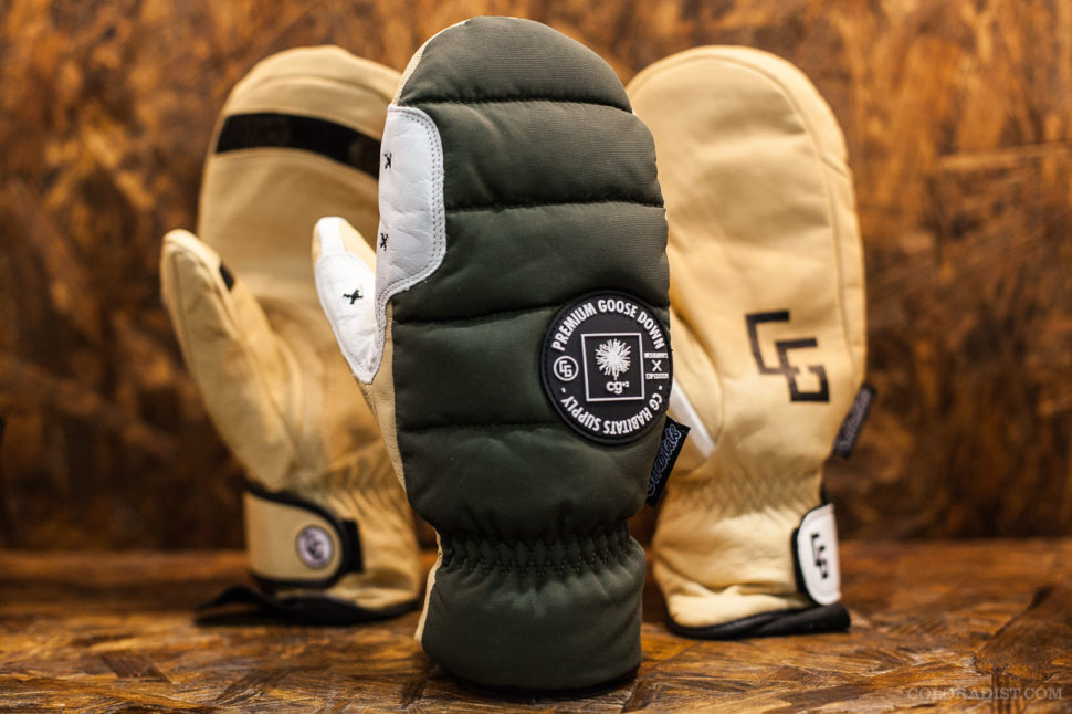 CG Habitats Goose Down Mittens, SIA/Outdoor Retailer, Jan 25-28, 2018, Denver, CO