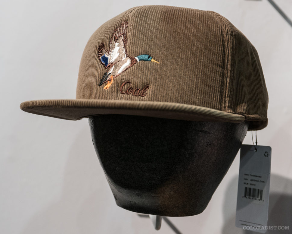 Coal Headwear mallard hat, Outdoor Retailer/SIA 2018, Jan 25-28, 2018, Denver, CO