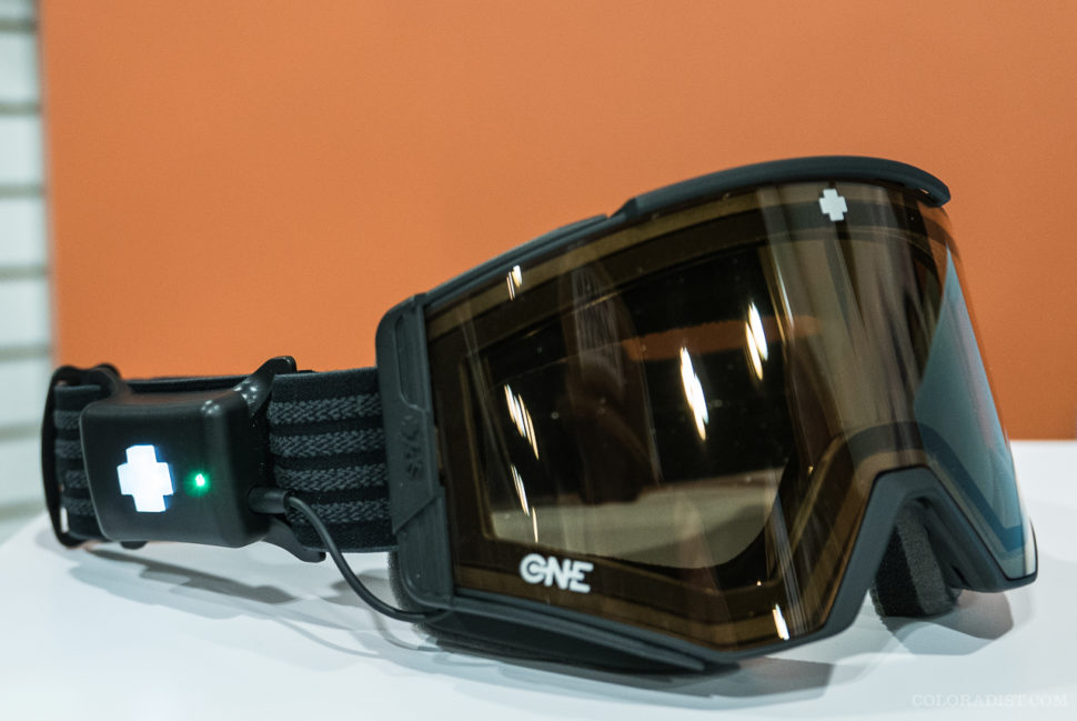 SPY Ace EC One goggle, Outdoor Retailer/SIA 2018, Jan 25-28, 2018, Denver, CO