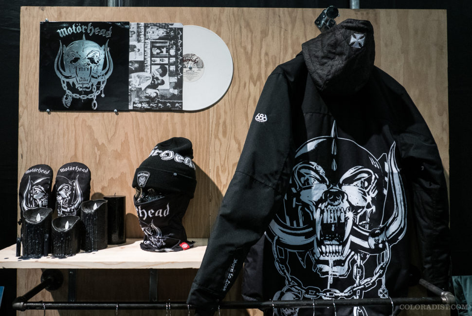 686 X Motorhead!, Outdoor Retailer/SIA 2018, Jan 25-28, 2018, Denver, CO
