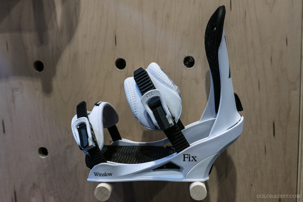 Fix Winslow bindings, 2018/19 Fix Winslow, Outdoor Retailer/SIA 2018, Jan 25-28, 2018, Denver, CO
