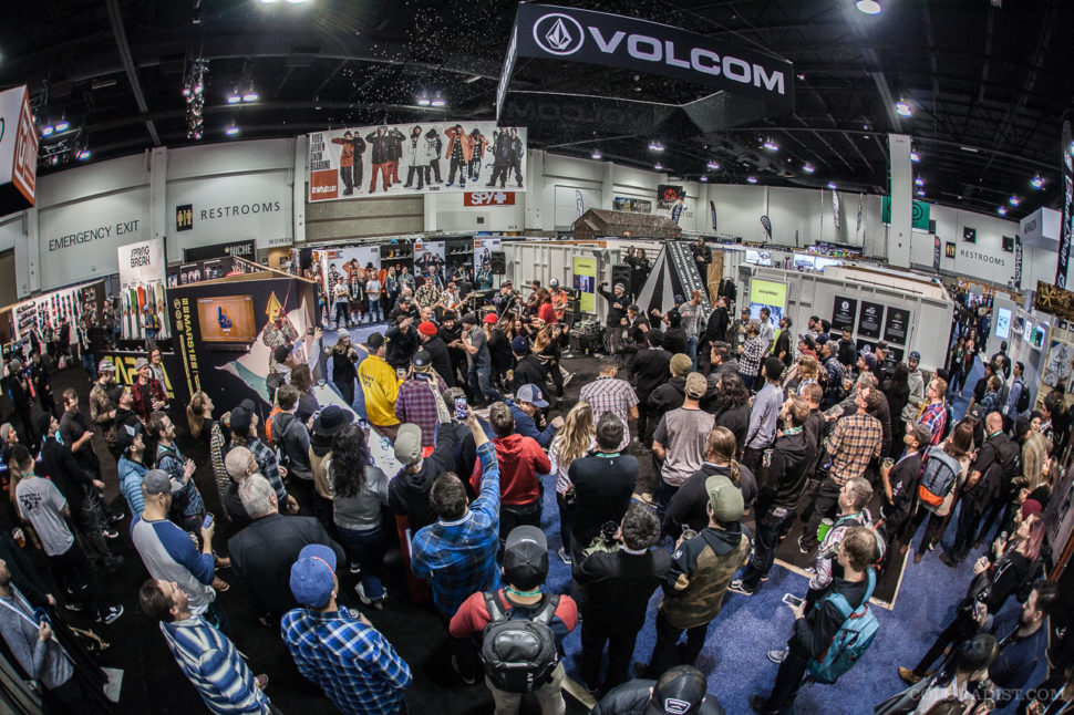 Volcom Happy Hour with Guttermouth, Outdoor Retailer/SIA 2018, Jan 25-28, 2018, Denver, CO