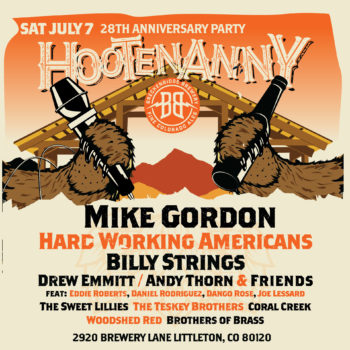 Breckenridge Brewery Announces 2018 Hootenanny Lineup - VIP Tickets On Sale Now