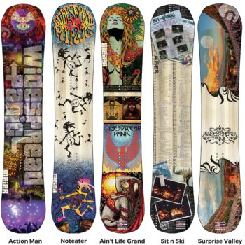 Meier Skis Teams up with Widespread Panic on Limited Edition Skis and Snowboard Collection